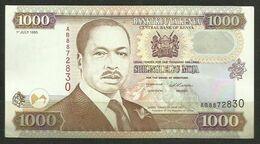 KENYA - BILLETE DE 1000 SHILINGI ELFU MOJA - SIN CIRCULAR - Kenya