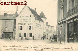 CIVRAY VUE DE L'HOTEL DE VILLE HOTEL DE FRANCE CHENE VERT MATHURIN SEGUINOT 86 VIENNE 1900 - Civray