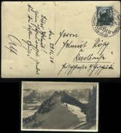 WW II DR Postkarte AK Bolsterlangerhorn Mit Reichsparteitag Briefmarke: Gebraucht Mit Motiv Stempel Fischen - Karlsruh - Duitsland
