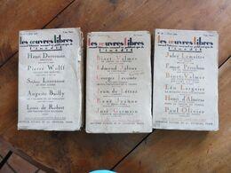 Les Œuvres Libres (3 Livres):L'école Des Amants ,L'écouteuse De Morts ,L'amour Mathématique, L'amant,Le Petit Capet..etc - Boeken, Tijdschriften, Stripverhalen