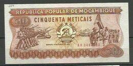 MOZAMBIQUE - BILLETE DE 50 METICAIS - SIN CIRCULAR - Mozambique