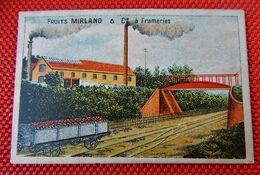 FRUITS  MIRLAND &  Cie  à  FRAMERIES   ( 10 X 7 CM ) - Autres