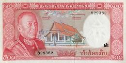 Laos 500 Kip, P-17 (1974) - UNC - Signature 6 - Laos