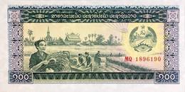 Laos 100 Kip, P-30a (1979) - UNC - Laos