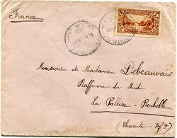 GRAND LIBAN LETTRE DEPART BEYROUTH ? XII 1930 POUR LA FRANCE - Briefe U. Dokumente