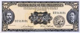 Philippines 5 Pesos, P-135e - UNC - Filippine
