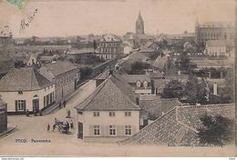 BELGIQUE - PECQ - Panorama - 1906 - Toilée? - Pecq