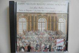 CD Les Plus Belles Ouvertures Compilation Suppe Nicolai Rossini Adam Borodine - Klassik
