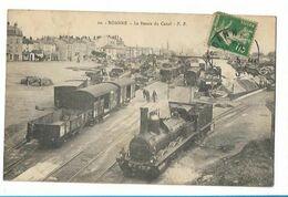 Roanne - Le Bassin Du Canal - Train - Locomotive - Plm - Roanne