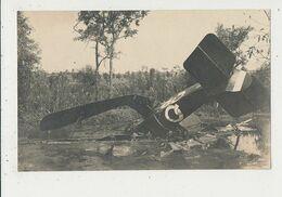 AVION FRANCAIS ABATTU CARTE PHOTO  BON ETAT - 1914-1918: 1ra Guerra