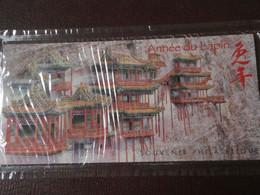 2011 - BLOC SOUVENIR - YVERT N°57 ** MNH - NOUVEL AN CHINE - ANNEE DU LAPIN  Sous Blister - Foglietti Commemorativi