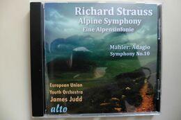 CD Richard Strauss Alpine Symphony - Mahler Adagio Symphonie N°10 - James Judd - Klassik