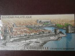 """LA ROCHELLE """" Sur Bloc Souvenir (Avec Sa Carte) De 2009 N° YT BS44 (sous Blister Fermé) En Parfait état - Foglietti Commemorativi"""