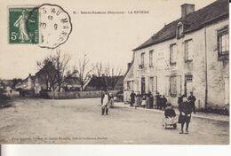 "SAINTE-SUZANNE  -1910 - "" Hôtel BOURDIN  "" - LA RIVIERE - Belle Animation - - Sainte Suzanne"