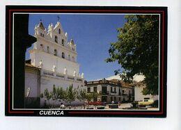 CP Utilisée équatorienne. Cuenca, Ecuadoa, Equateur. Espaldaña Y Plaza De Las Conceptas. - Ecuador