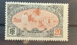 1909  Y Et T 72  * - Côte Française Des Somalis (1894-1967)