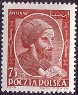 1952 Poland Mi 744,  Ibn Sina - Avicenna, Persian Philosopher And Physician, MNH** - Ongebruikt