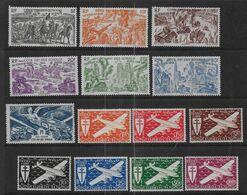 Cote Des Somalis -  P.A. 14 Timbres  **    - Cote : 39 € - Côte Française Des Somalis (1894-1967)