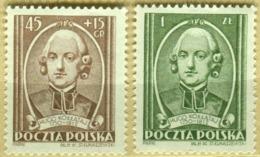 1952 Poland 140th Anniversary Of Death Of Hugon Kollataj MNH** - Ongebruikt