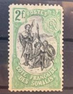 1903  Y Et T 65 Sans Gomme - Côte Française Des Somalis (1894-1967)