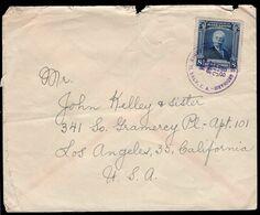 El Salvador - 1946 - Lettre - Envoyée à USA - A1RR2 - El Salvador