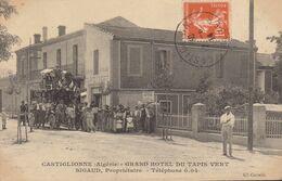 Castiglionne : Grand Hotel Du Tapis Vert  , Diligence      ///   REF . Sept.  20   ///  N° 12.765 - Otras Ciudades