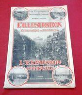 L'illustration Economique 1924 Expansion Economique Le Luxe Parfumeurs Couturiers Fourrure Houbigant Pinaud Weill - Economie