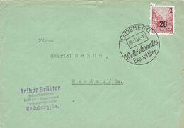 Allemagne De L'Est Enveloppe Oblitérée, Thème Bière, Beer, Bier. Radeberg Export Bier - Birre