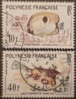2701 - 1962 - POLYNESIE FRANCAISE - N°19 Et 21 ☉ - Polinesia Francese