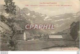 CPA Gavarnie Les Hautes Pyrenees Ensemble Du Cirque Et Hotel Du Vignemale - Gavarnie