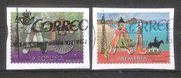 España 2020 - 2 Sellos Usados Y Circulados -A Coruña Y Almeria-Espagne Spain Spanien - 1931-Hoy: 2ª República - ... Juan Carlos I