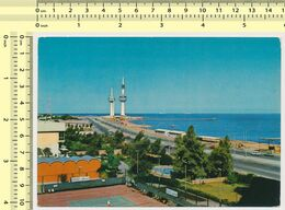 KUWAIT Towers Nice Stamp 1978, Par Avion ,old Postcard OLD POSTCARD  RPPC PC PPC - Kuwait