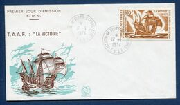 Terres Australes Et Antarctiques Françaises - TAAF - Premier Jour - FDC - La Victoire - 1974 - FDC