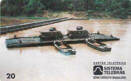 BRAZIL(Sistema Telebras) - Army/Carried Ribbon, 07/96, Used - Army