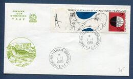 Terres Australes Et Antarctiques Françaises - TAAF - Premier Jour - FDC - Port Aux Francais - 1985 - FDC