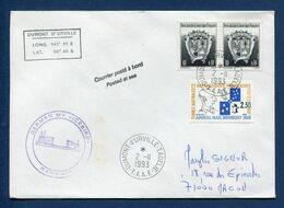Terres Australes Et Antarctiques Françaises - TAAF - Premier Jour - FDC - Dumont D'Urville - 1993 - FDC