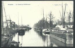 +++ CPA - BRUSSEL - BRUXELLES - Canal De Willebroeck - Péniches   // - Bruxelles-ville