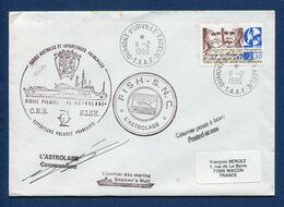 Terres Australes Et Antarctiques Françaises - TAAF - Premier Jour - FDC - Navire Polaire L'Astrolabe - 1990 - FDC