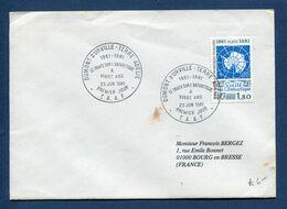 Terres Australes Et Antarctiques Françaises - TAAF - Premier Jour - FDC - Le Traité Sur L'Antarctique - 1981 - FDC