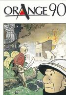Carte Postale LE GALL Franck Festival BD Orange 1990 (Théodore Poussin - Ansichtskarten