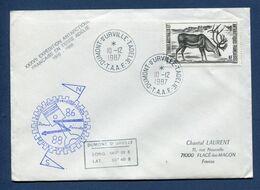Terres Australes Et Antarctiques Françaises - TAAF - Premier Jour - FDC - Dumont D'Urville - 1987 - FDC