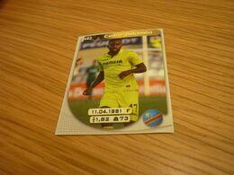 Cedric Bakambu Villarreal Spanish Football Soccer Europe's Champions 2017-2018 Greek Sticker - Adesivi