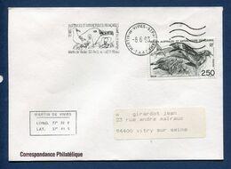 Terres Australes Et Antarctiques Françaises - TAAF - Premier Jour - FDC - Martin De Viviès - 1993 - FDC