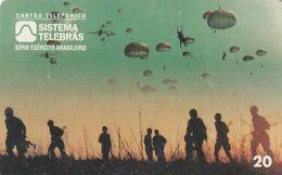 BRAZIL(Sistema Telebras) - Combatente Para-Quedista, 07/96, Used - Army