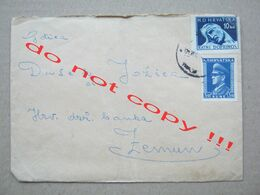 Croatia, NDH, WW2 / Envelope With Letter - Before Battle For Doboj ( From Doboj-Johovac To Zemun 1944. ) / Description ! - Croatia