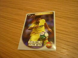Manu Trigueros Villarreal Spanish Football Soccer Europe's Champions 2017-2018 Greek Sticker - Adesivi