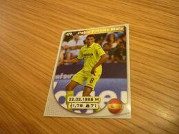 Pablo Fornals Malla Villarreal Spanish Football Soccer Europe's Champions 2017-2018 Greek Sticker - Adesivi