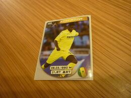 Alfred N'Diaye Villarreal Spanish Football Soccer Europe's Champions 2017-2018 Greek Sticker - Adesivi