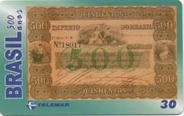 Brésil : Série De 500 Ans : Billet De Banque 1867 - Postzegels & Munten