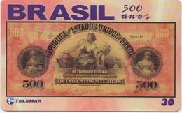 Brésil : Série De 500 Ans : Billet De Banque 1897 - Postzegels & Munten
